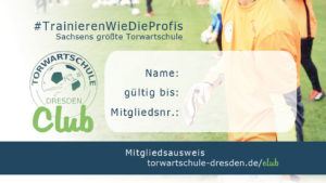Torwartschule Dresden Club-Ausweis