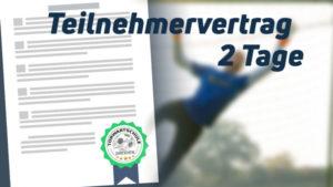 torwartschule dresden teilnehmervertrag 2 tage