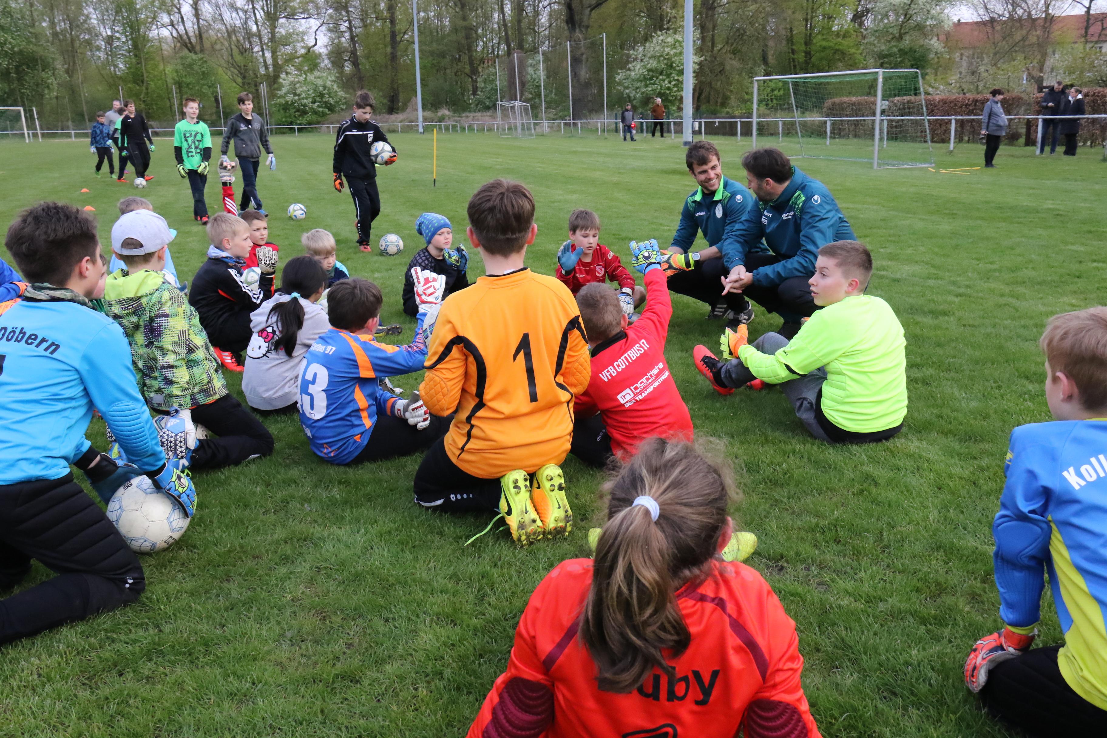 Torwartschule Dresden Thomas Köhler Enrico Kuntke Torwartcamp