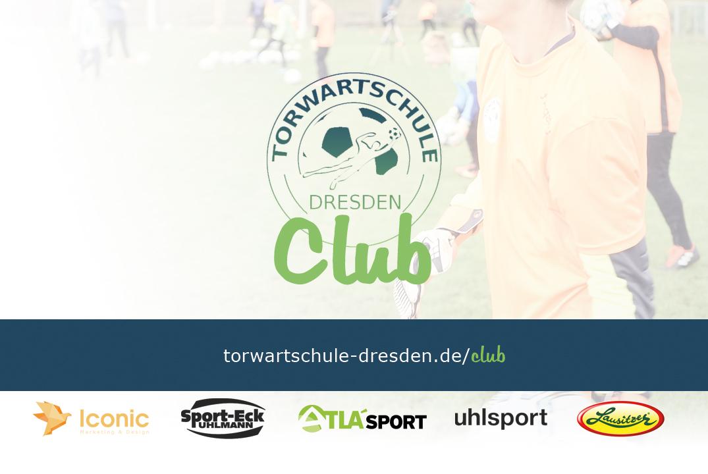 Torwartschule Dresden Club Mitgliedsausweis